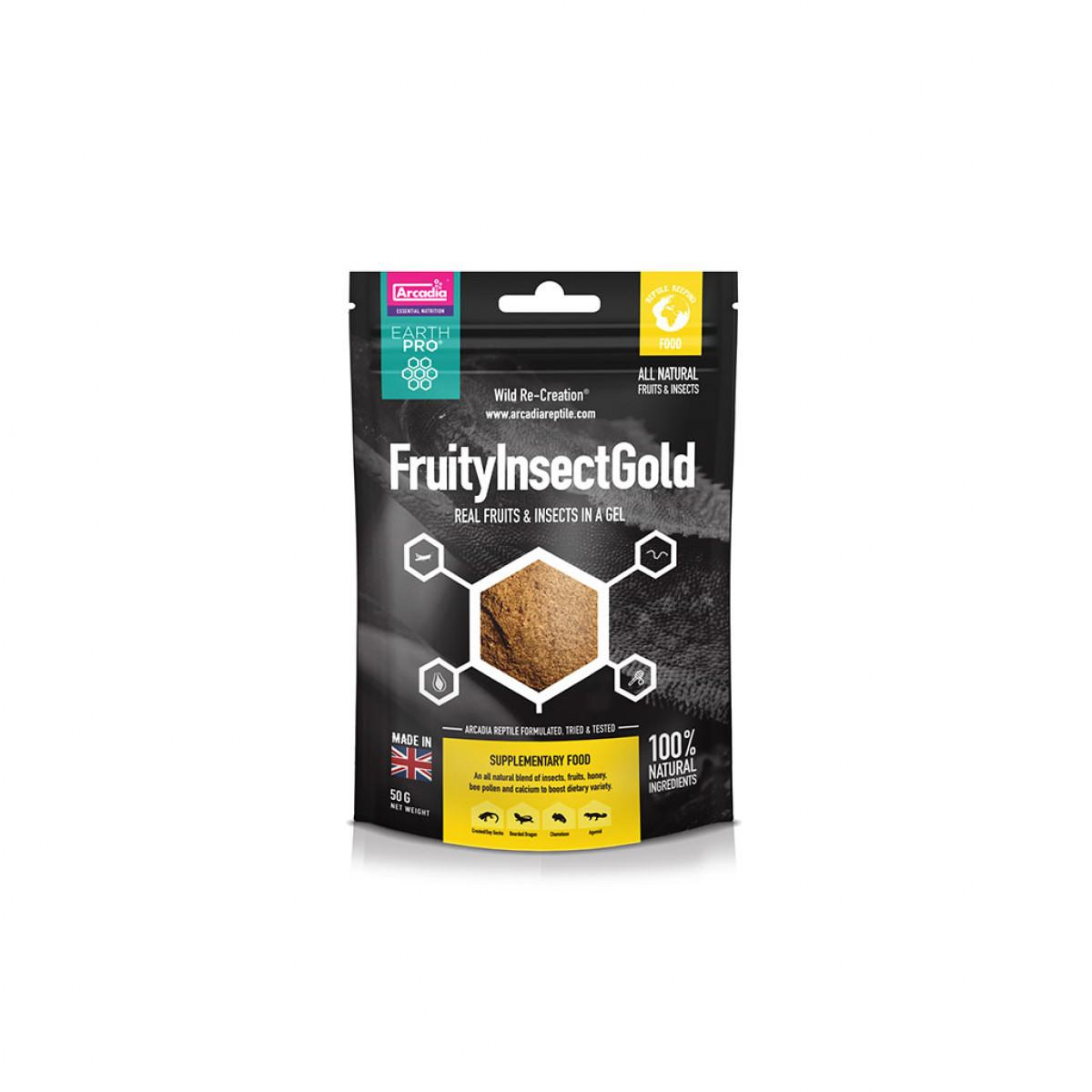 Arcadia earth pro jellypot gold fruityinsect gold 50g