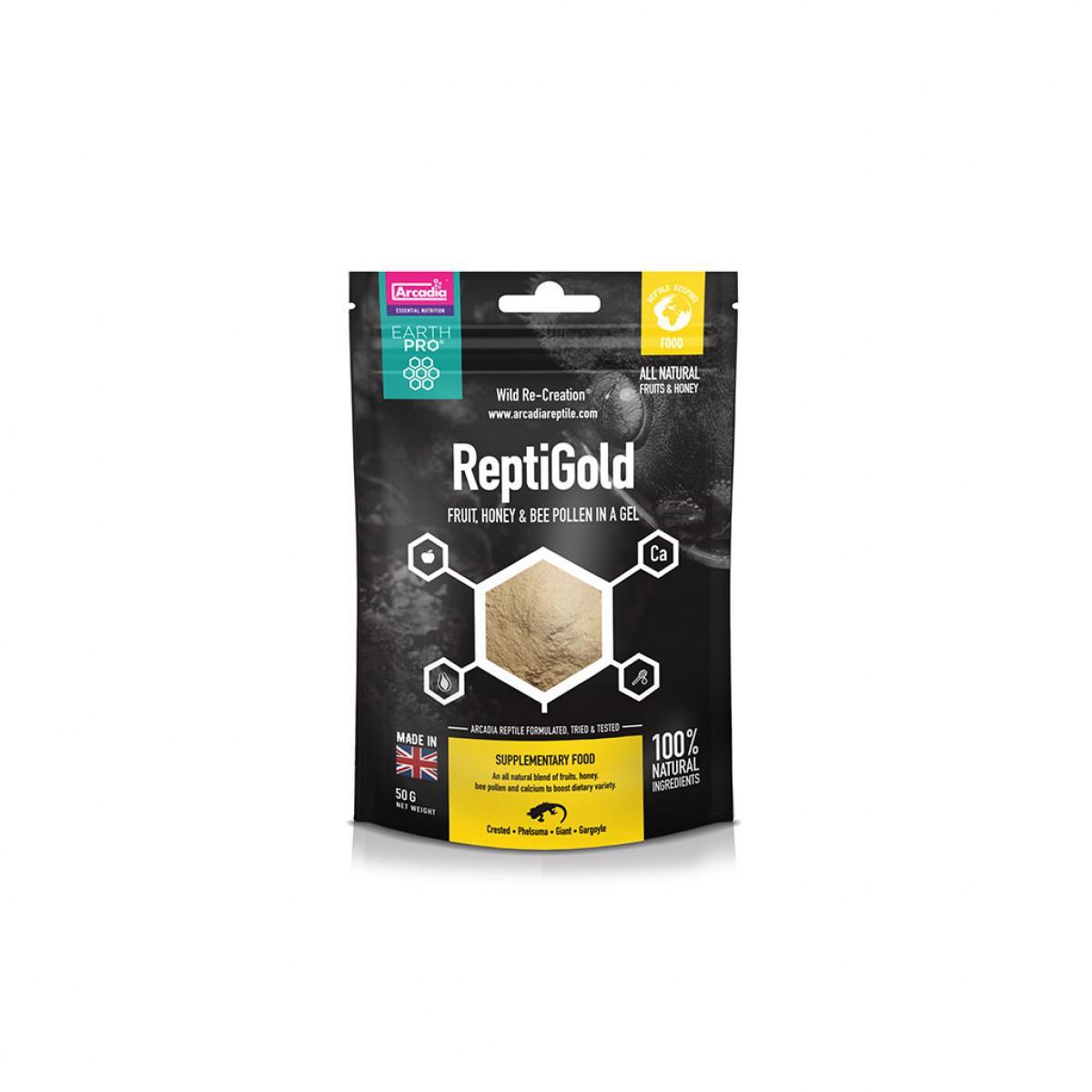 Arcadia earth pro jellypot gold repti gold 50g