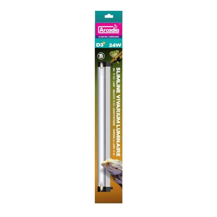 Arcadia lampe vivarium slimline t5 1x24 w 1