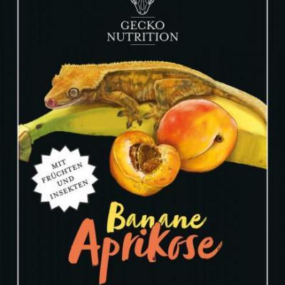 Gecko Nutrition Banane/Abricot 50gr