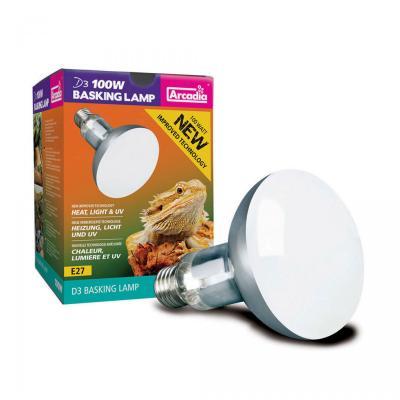 Arcadia 2nd Generation UV Basking Lamp, 100 Watts