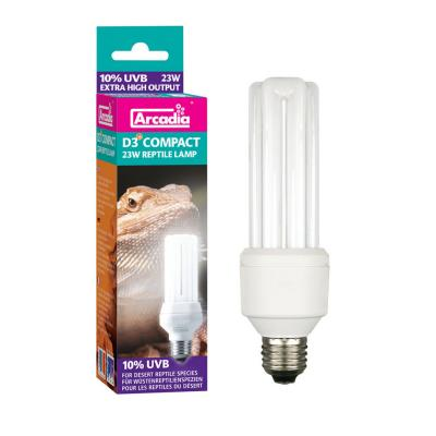Arcadia D3+ Compact Bulb, 12%, 23 Watt