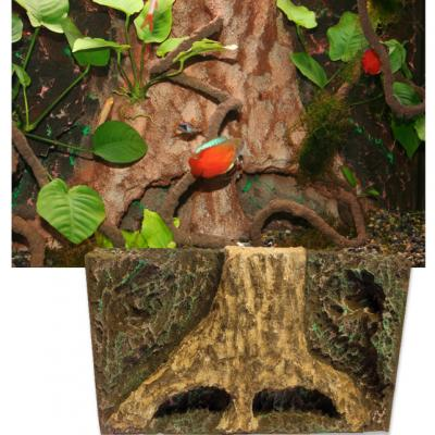 T-Rex Foam Tree Trunk Tropics TERRARIUM Background