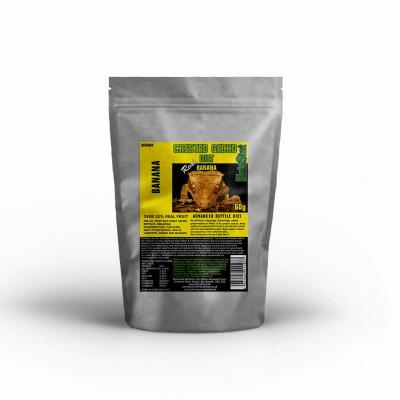 HabiStat Crested Gecko Diet, Banana, Eco Pak, 60g