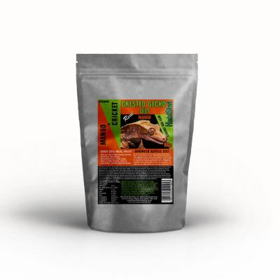 HabiStat Crested Gecko Diet, Mango and Cricket, Eco Pak, 60g