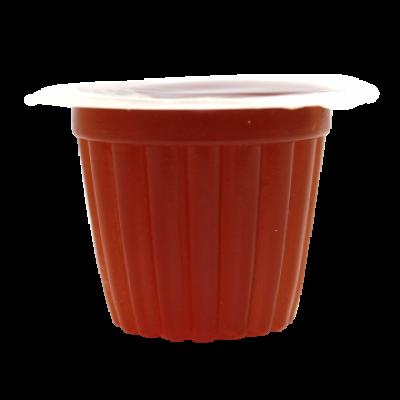 jelly pots sucre brun