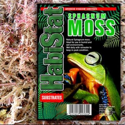 HabiStat Sphagnum Moss. Sac de 12 kg.