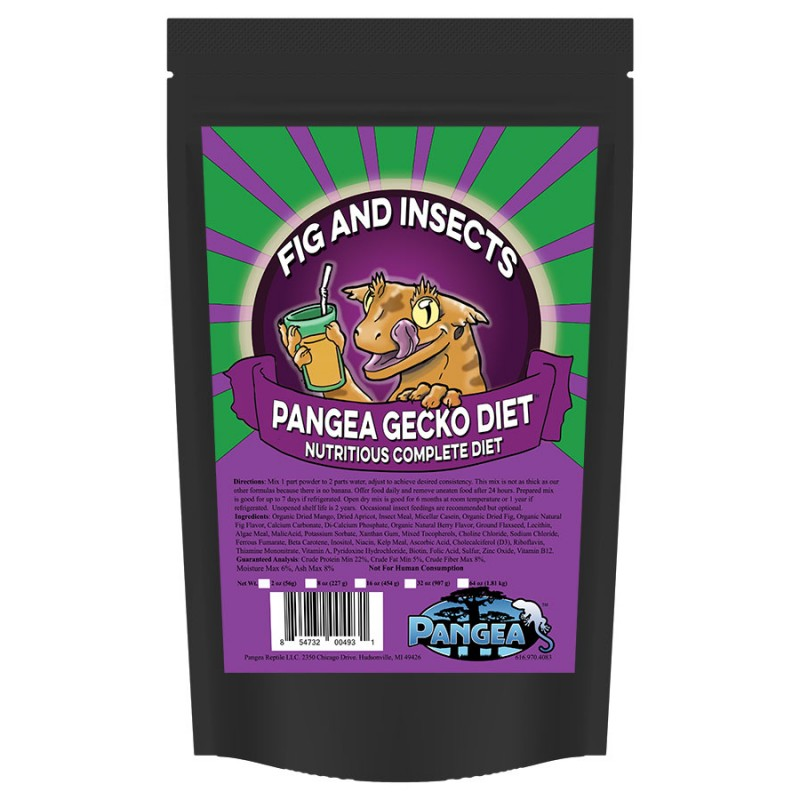 Pre order new pangea fig insects complete gecko diet