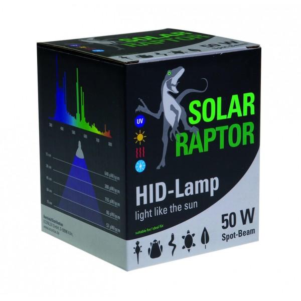 Solar raptor hid 50w spot