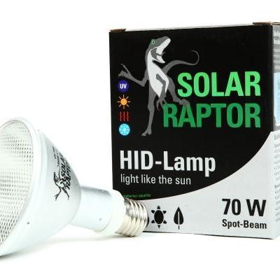 SolarRaptor HID-Lamp 70W Flood