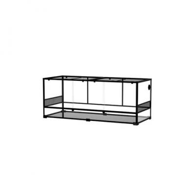 REPTIZOO Glass terrarium 152.4 X 61 X 61CM, Flat-Packed