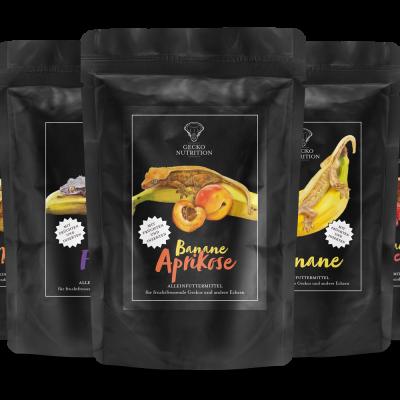 Gecko Nutrition TestPaket ( les 5 saveurs) 250gr
